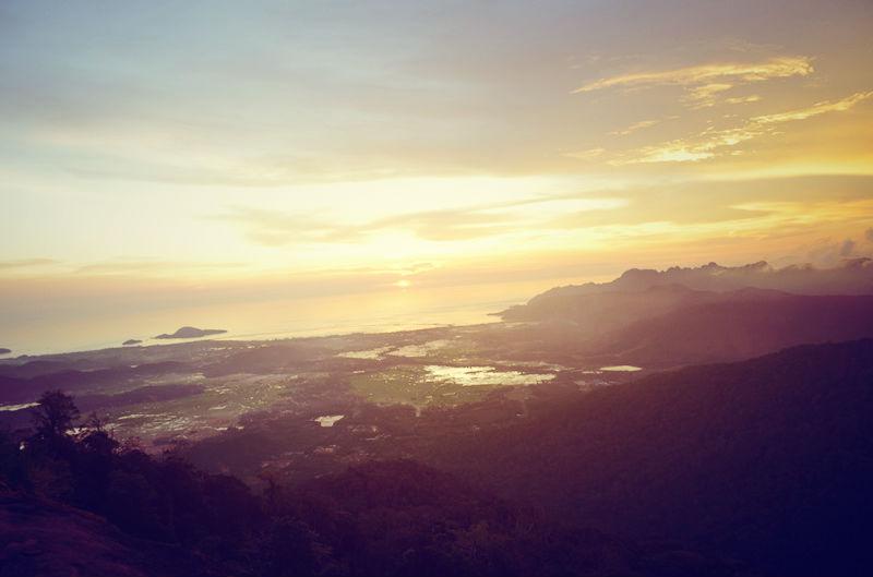 ランカウイ島 ラヤ山