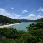 奄美空港から大和村の国直海岸、さんごビーチへ