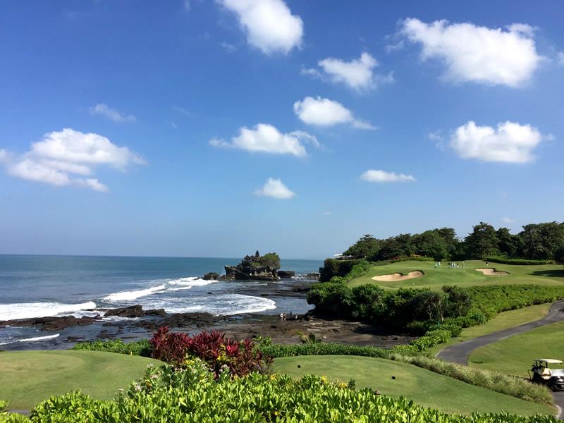 ゴルフコース併設のパン パシフィック ニルワナ バリ リゾート