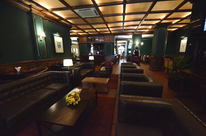 コロンボのダッチ・ホスピタル隣のコロニアルホテル